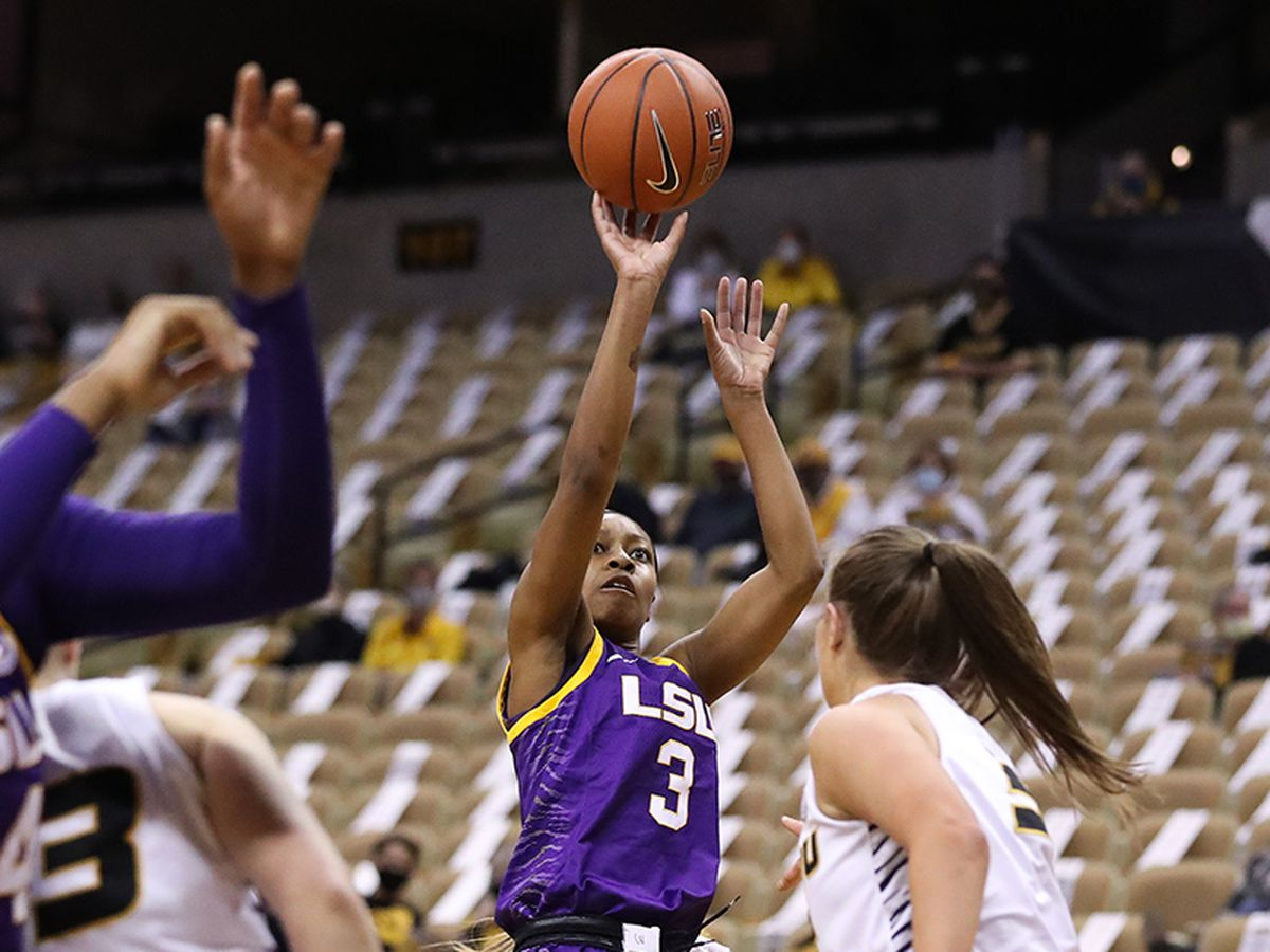 Pointer leads LSU to close 66-64 win over Missouri