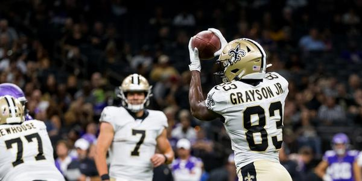 WR's Travin Dural, Cyril Grayson, and Simmie Cobbs among initial cuts for the Saints