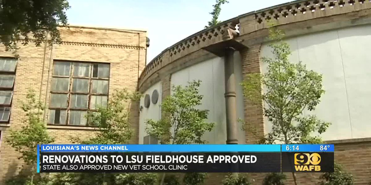 Renovations to LSU fieldhouse approved