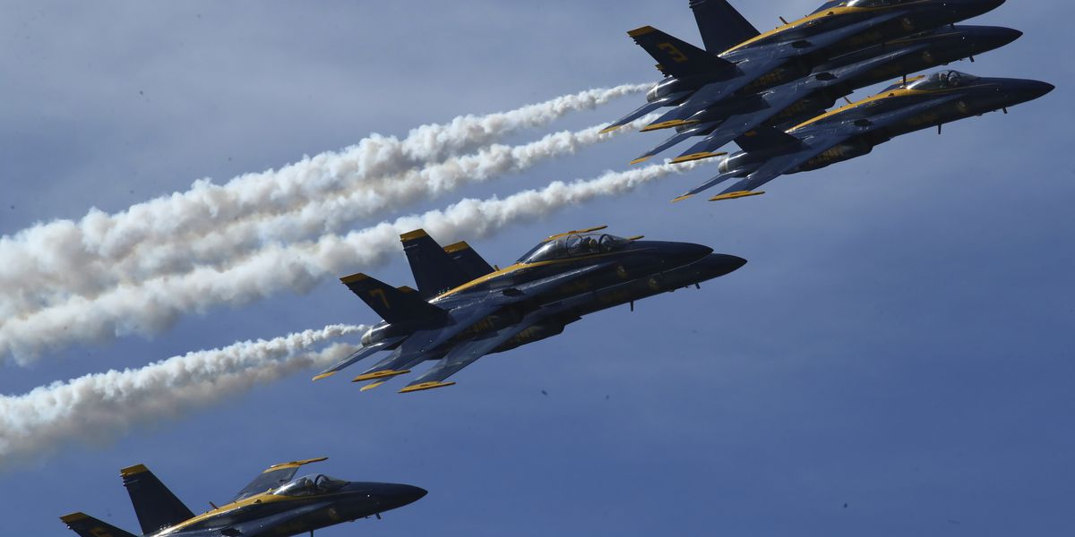 La. natives become newest members of U.S. Navy's elite flight squadron - Blue Angels