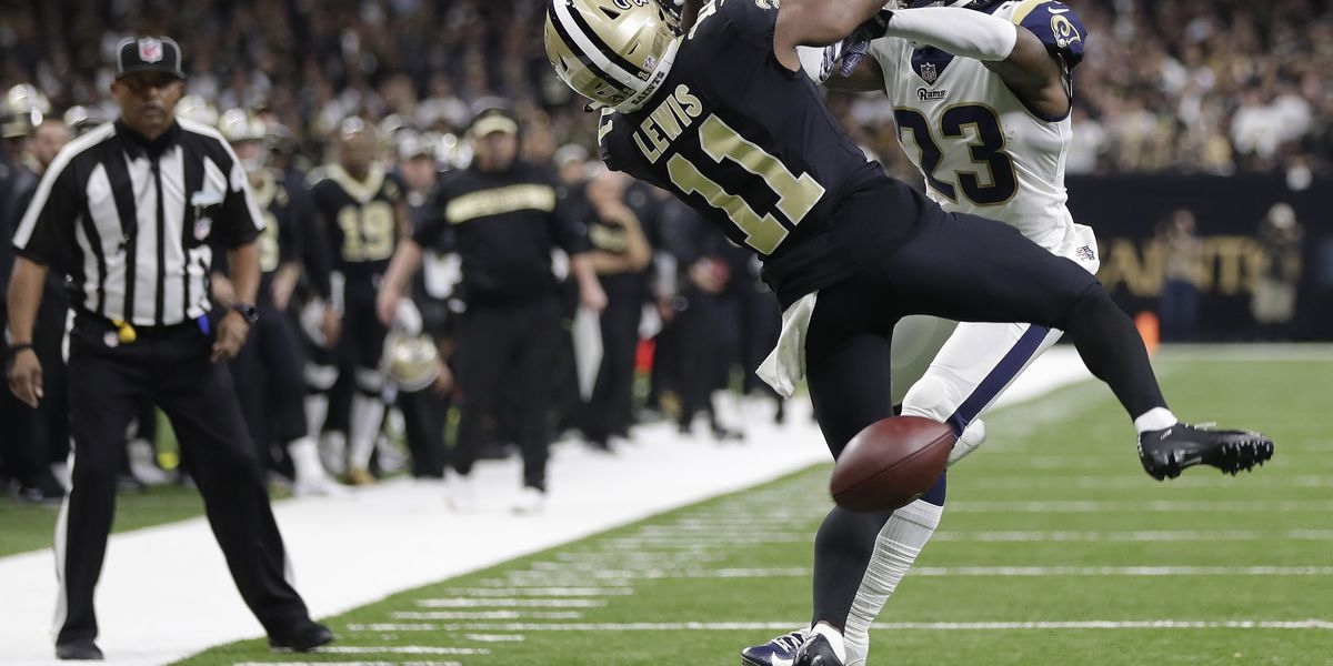 National Football League  fines Nickell Robey-Coleman $26K for controversial hit vs. Saints