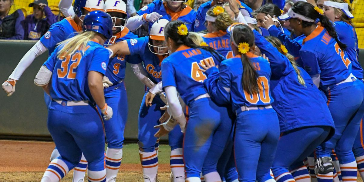 Grand slam lifts No. 7 Florida over No. 9 LSU softball in Game 1