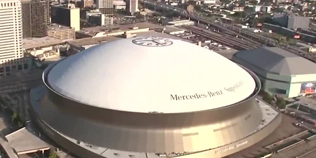 Naming rights for Mercedes-Benz Superdome up for grabs; stadium to be re-named in 2021