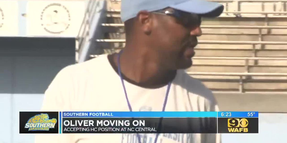 Southern's Trei Oliver heading to NC Central University for head coach position