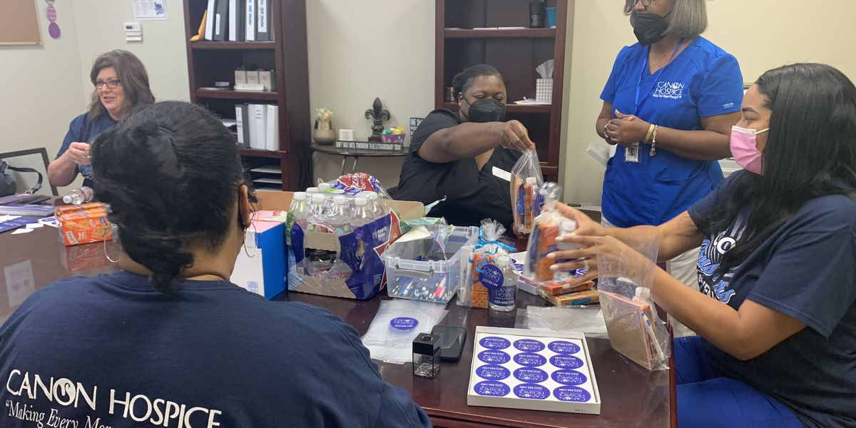 Gov. John Bel Edwards is asking for more volunteers to help to give out the vaccine, but one nurse is going above and beyond