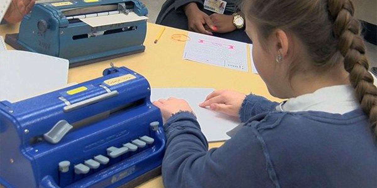 Students compete in annual Braille Challenge