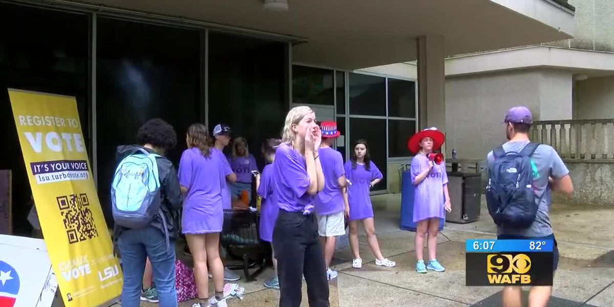LSU Geaux Vote registers hundreds of students to vote