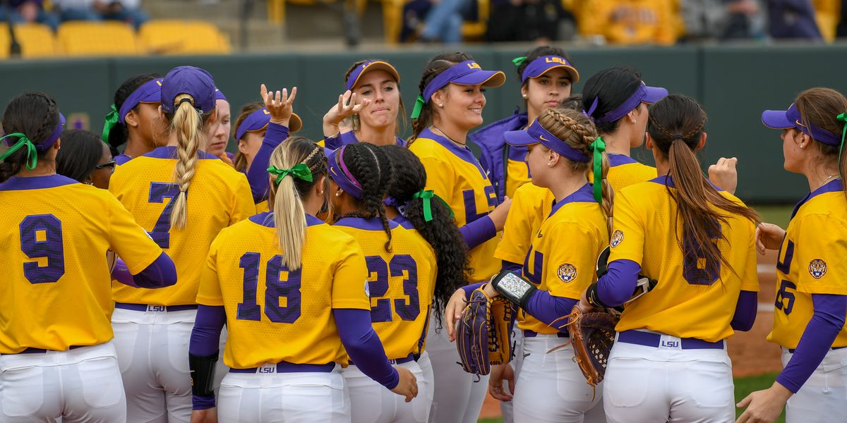 LSU softball faces Alabama in final regular season game