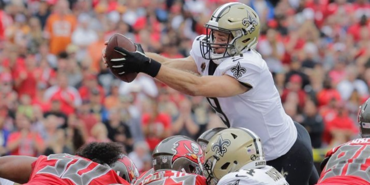 Drew Brees restructures, clears cap space, report says