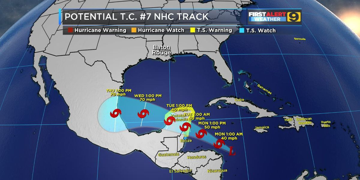 TRACKING THE TROPICS: Invest 90-L upgraded to potential T.C. 7
