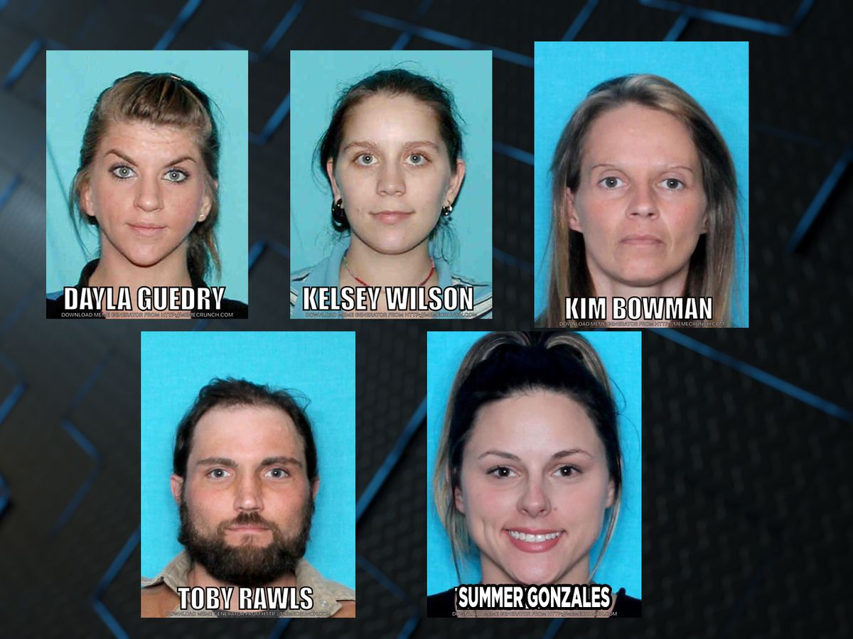 Police searching for 5 accused of writing, cashing fake payroll checks