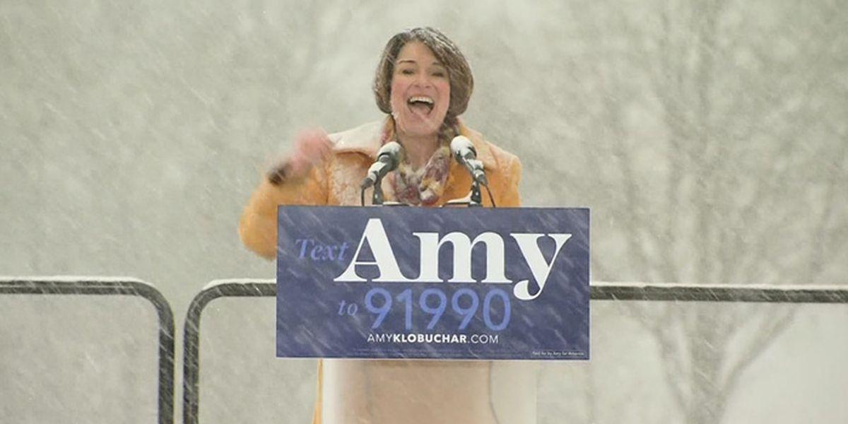 Minnesota Sen. Amy Klobuchar the latest to join crowded 2020 Democrat field