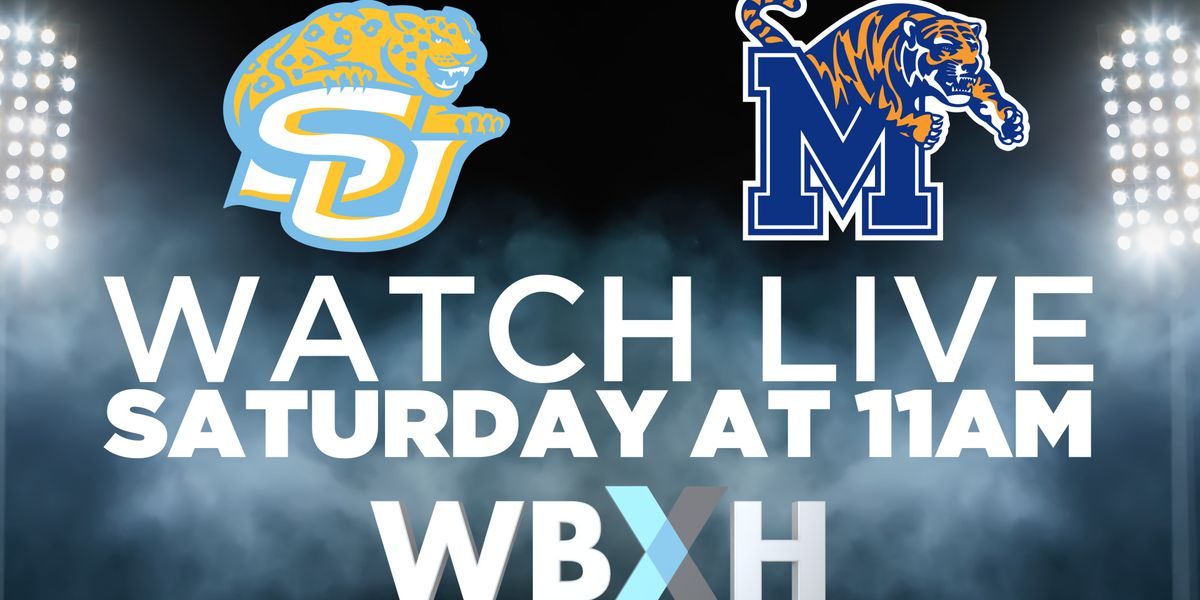 Where to watch: Southern vs. Memphis football game set to air on WBXH
