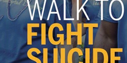 Annual suicide prevention walk scheduled with new location