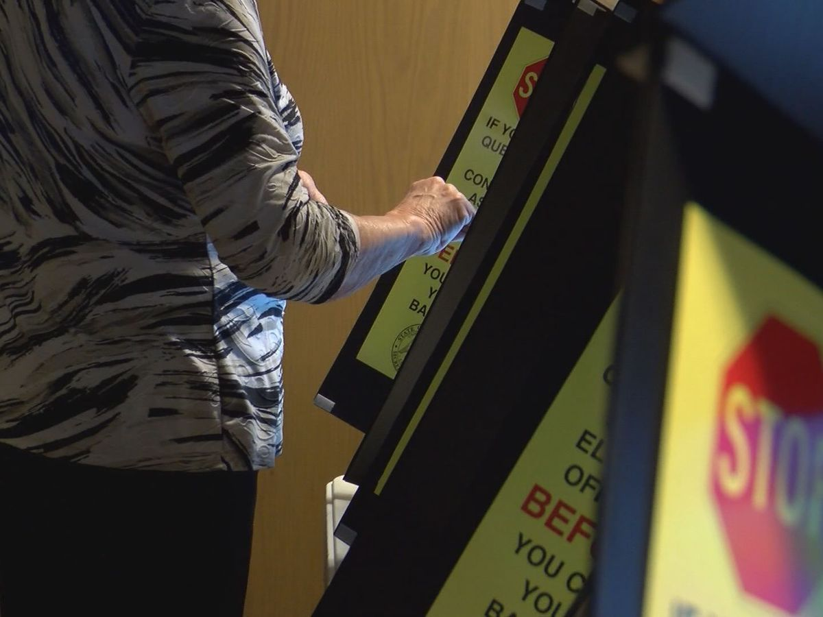 State officials say they are working to keep voting polls safe and clean ahead of primary elections