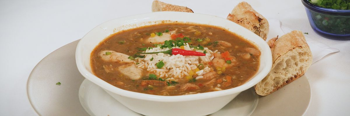 'Too Good to be True' Louisiana Seafood Gumbo