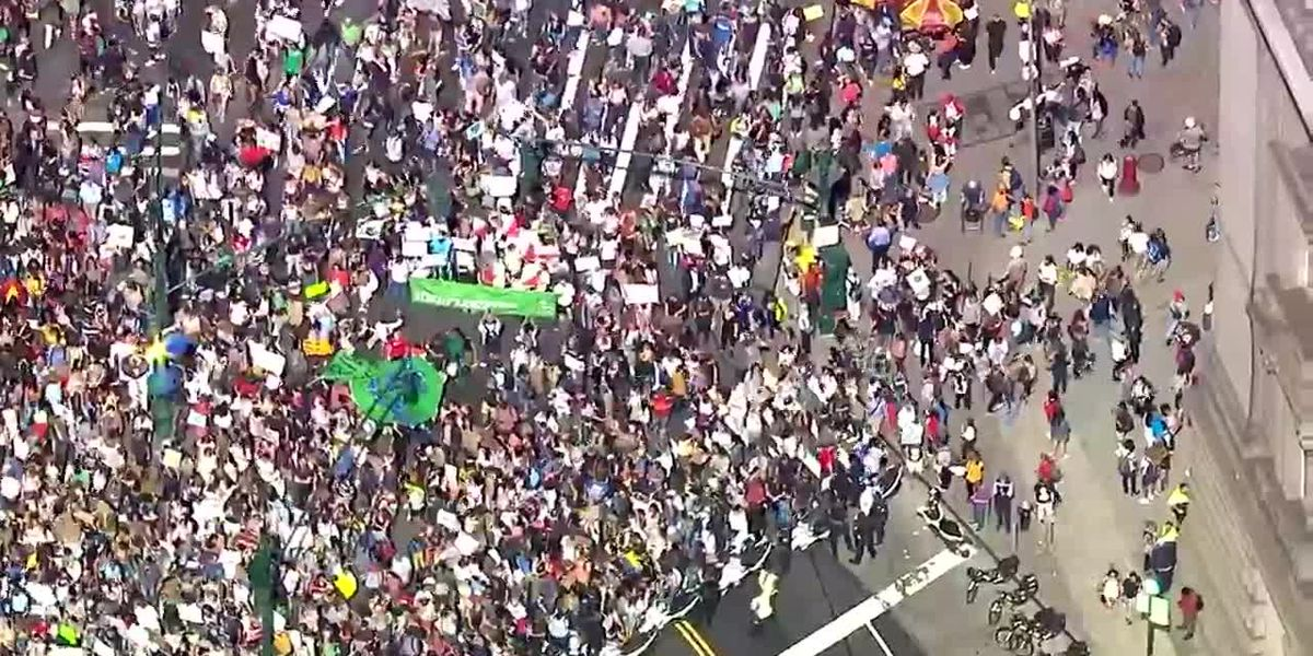 Protesting climate change goes global