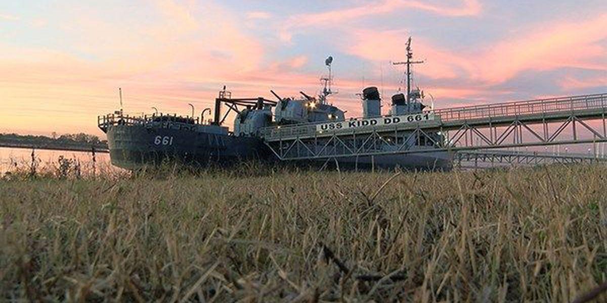 USS Kidd marks tragic anniversary online