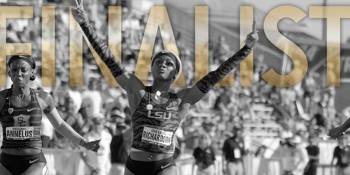 Sha'Carri Richardson named a finalist for The Bowerman