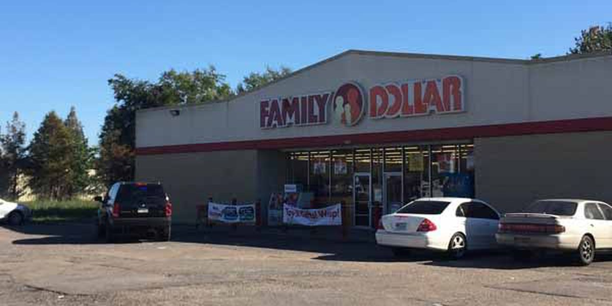 Police respond to reported armed robbery at dollar store