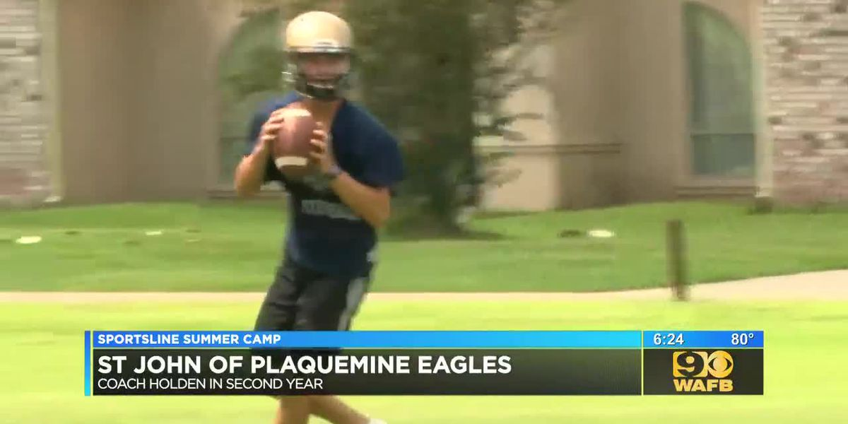 SPORTSLINE SUMMER CAMP: St. John Eagles - Part 1