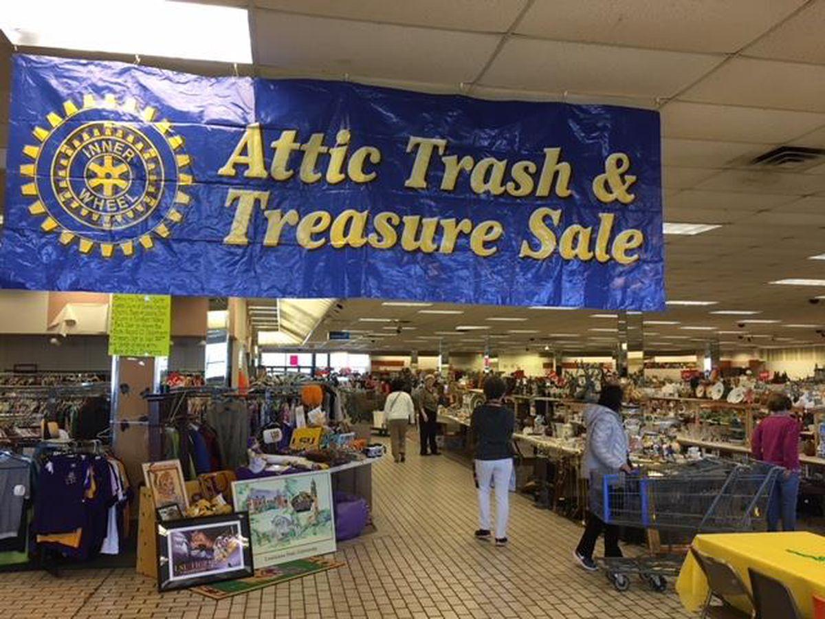 Inner Wheel Club hosts 30th Anniversary Attic Trash & Treasure Sale at new location
