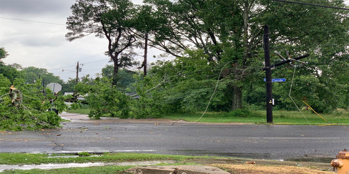 Residents still without power after storms cause outages in East Baton Rouge Parish