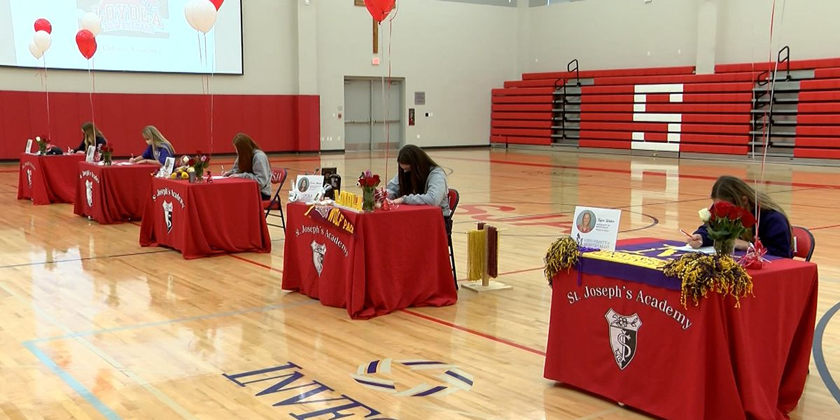Several more Baton Rouge-area student-athletes sign with colleges