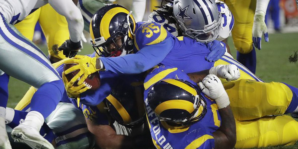Winner of Saints-Eagles will play Rams in NFC Championship Game