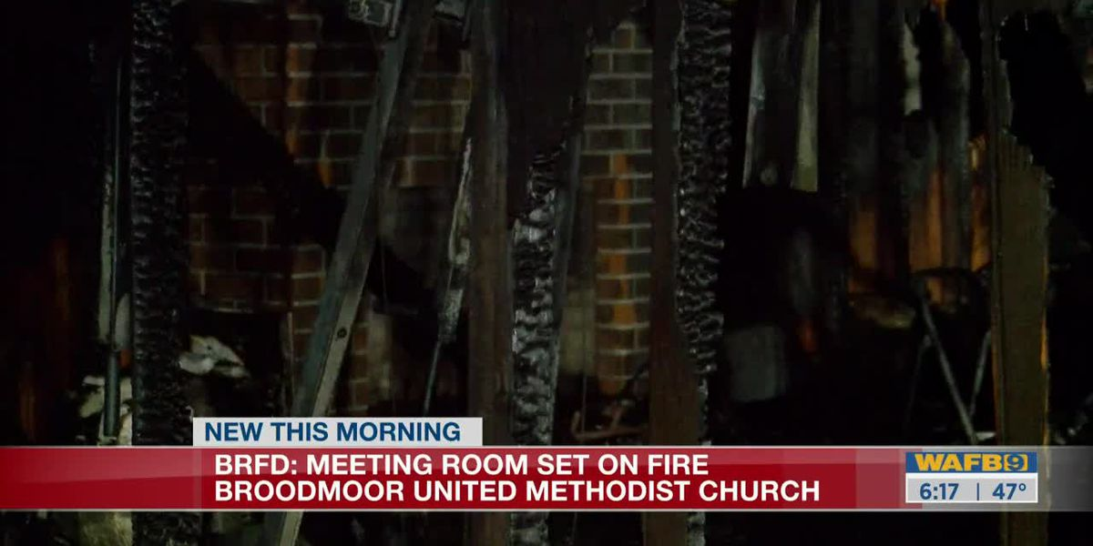 Church building destroyed by arson