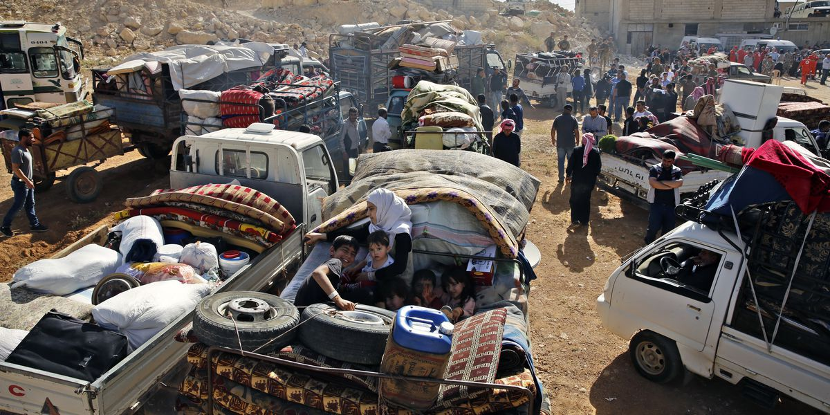 Russian army: Nearly 270,000 Syrian refugees returned home