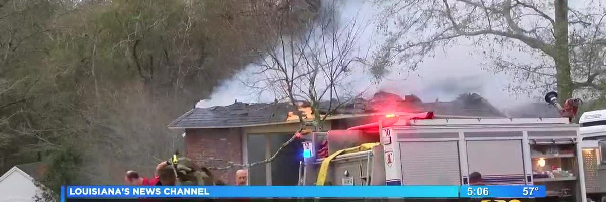 House fire on Highland Road leaves man in critical condition