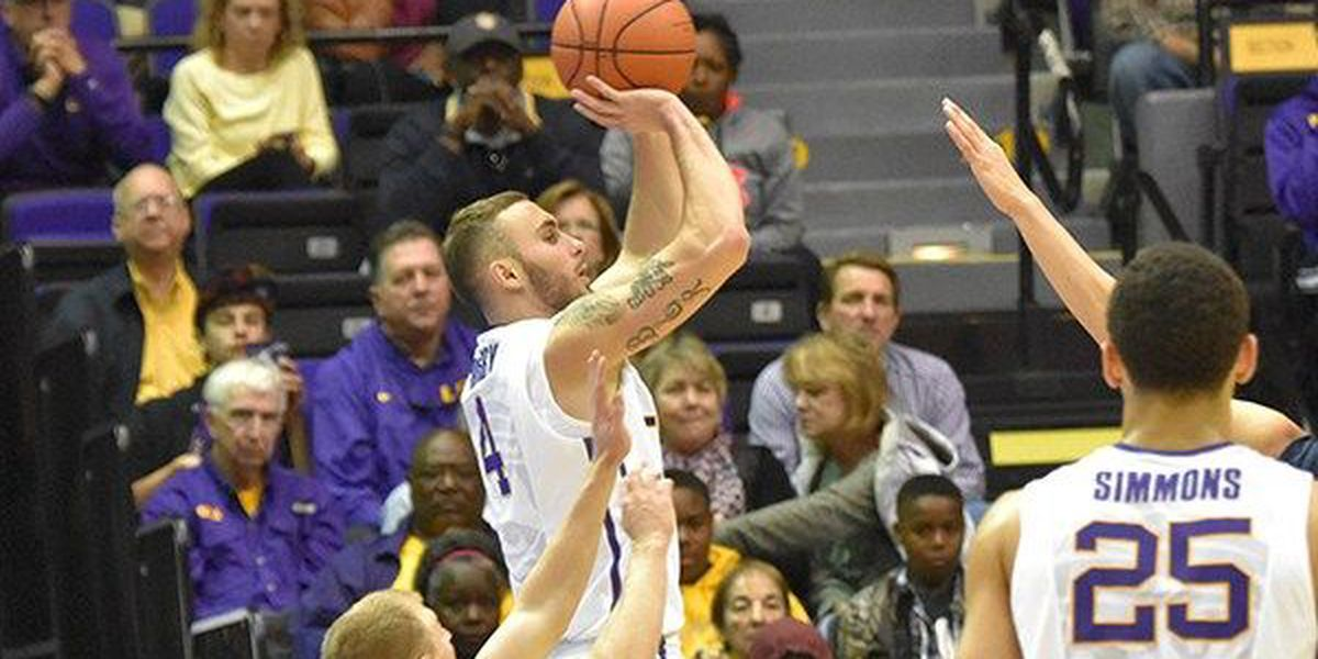 Report: LSU guard Keith Hornsby could miss rest of season with injury