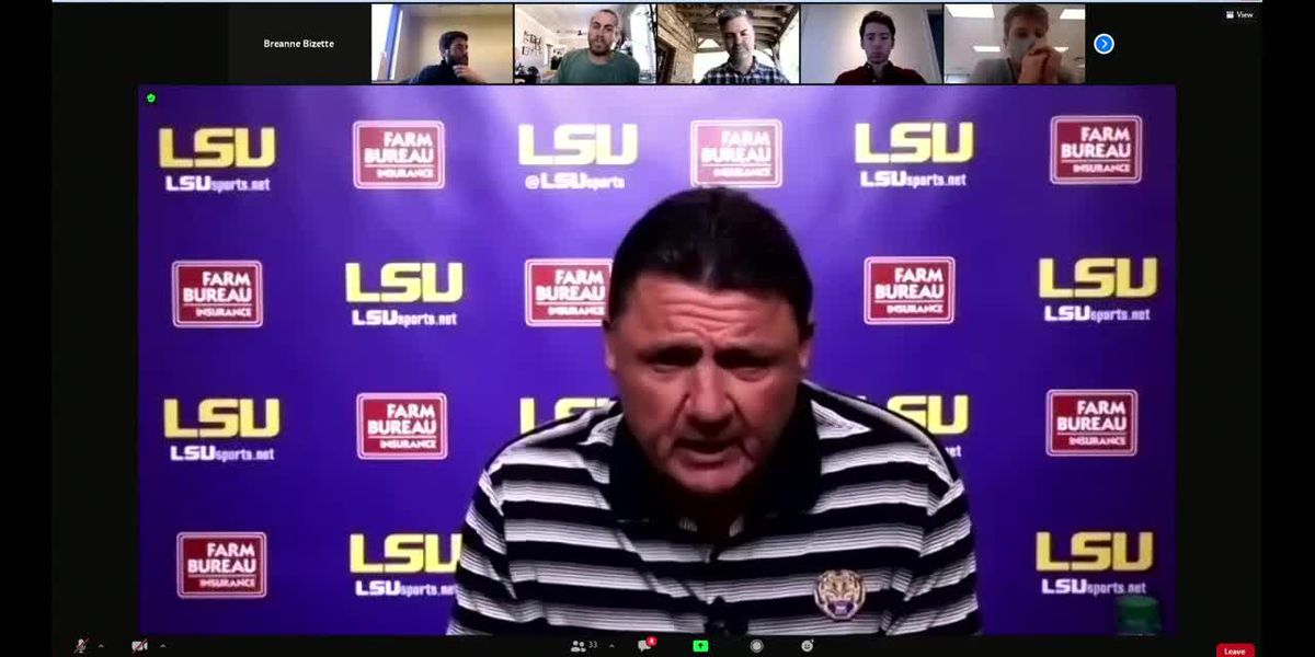 Lunch with Coach O: LSU enters bye week before game against Bama