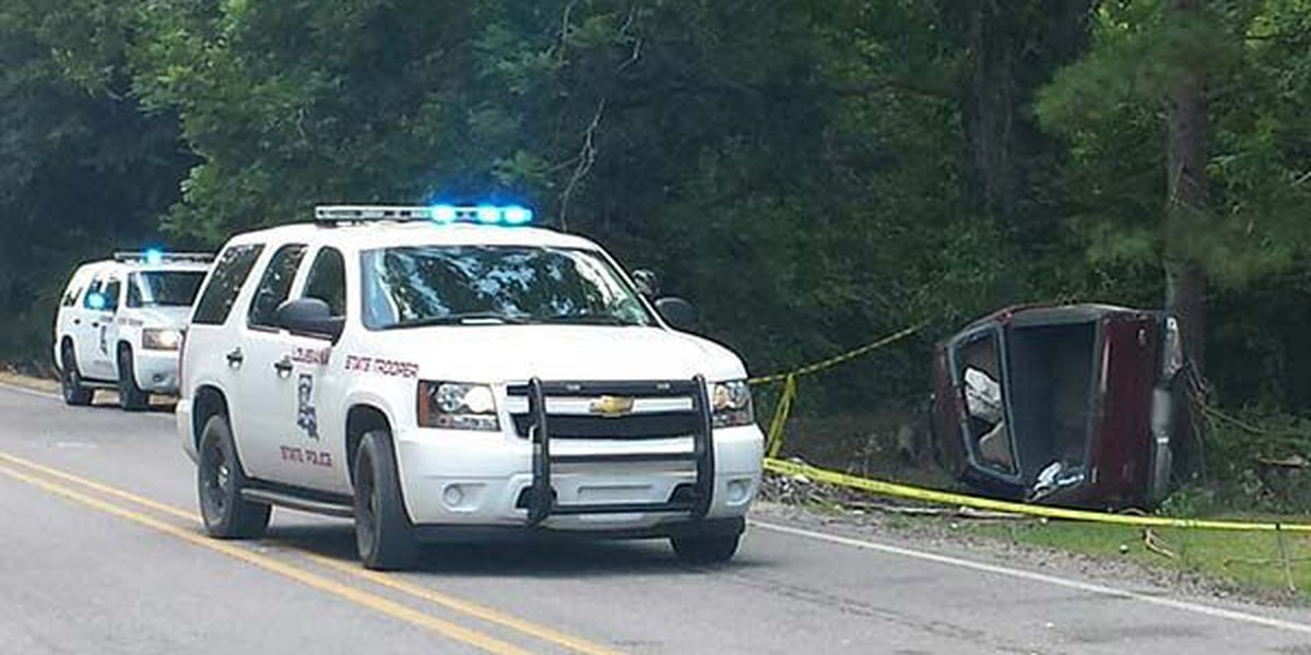 Driver dies after getting thrown from truck that hit tree