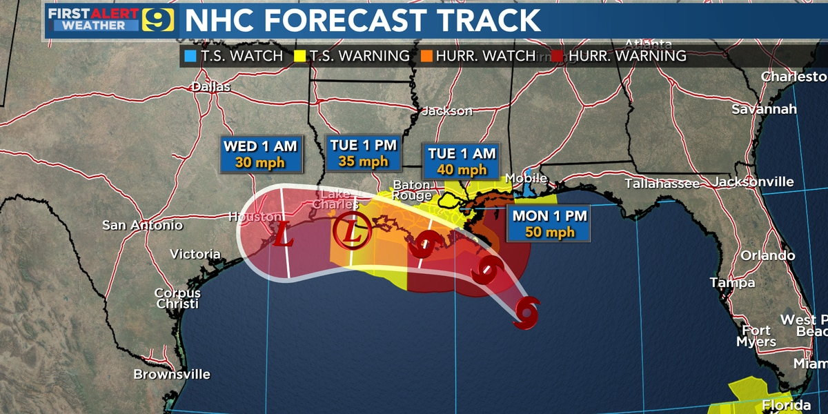US Gulf Coast Braces for One-Two Punch From Powerful Twin Tropical Storms