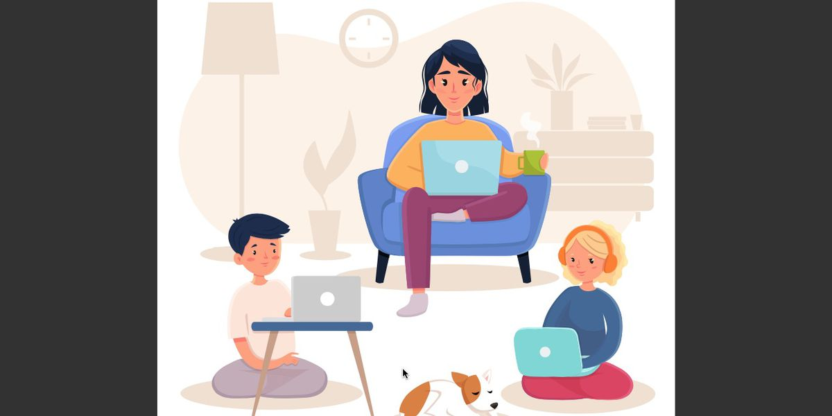 Students can distance learn on multiple devices, but is it too much screen time?