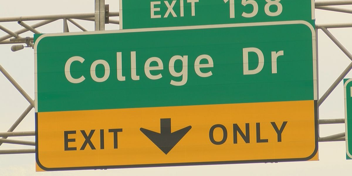 DOTD: I-10/I-12 College Drive exit project officially begins