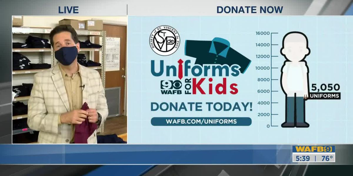 How to donate to Uniform for Kids