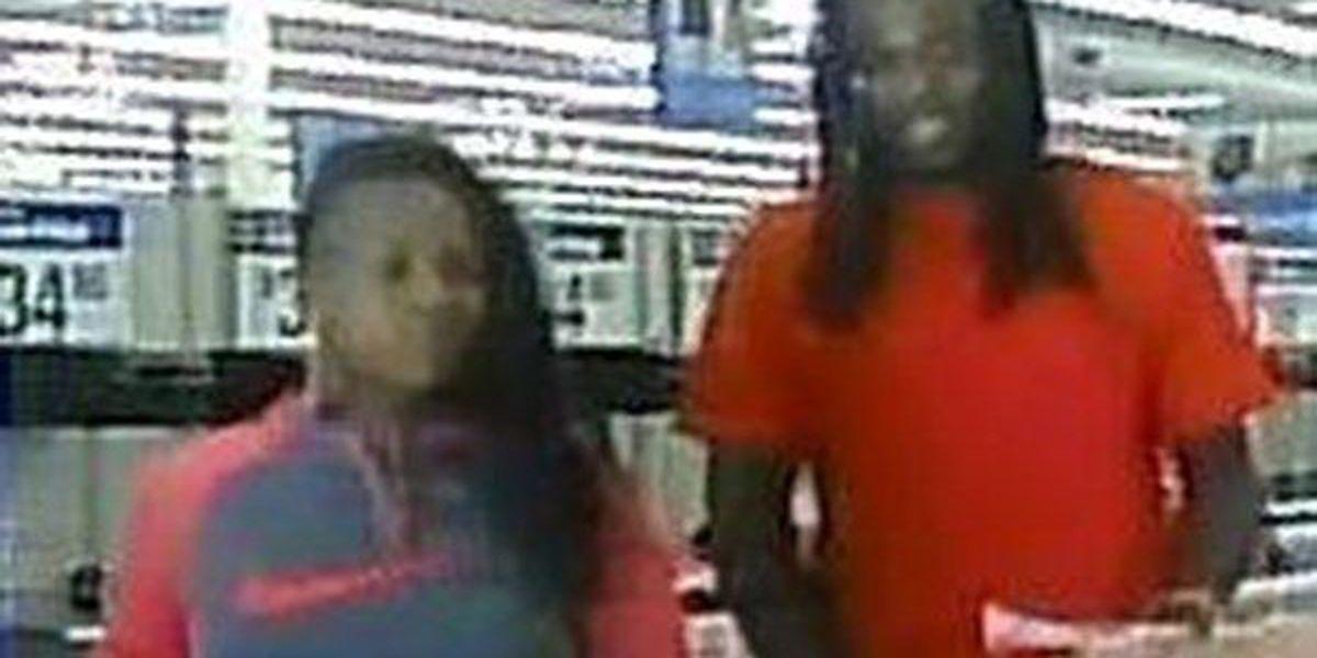 WANTED: Man and woman use stolen credit card, deputies say