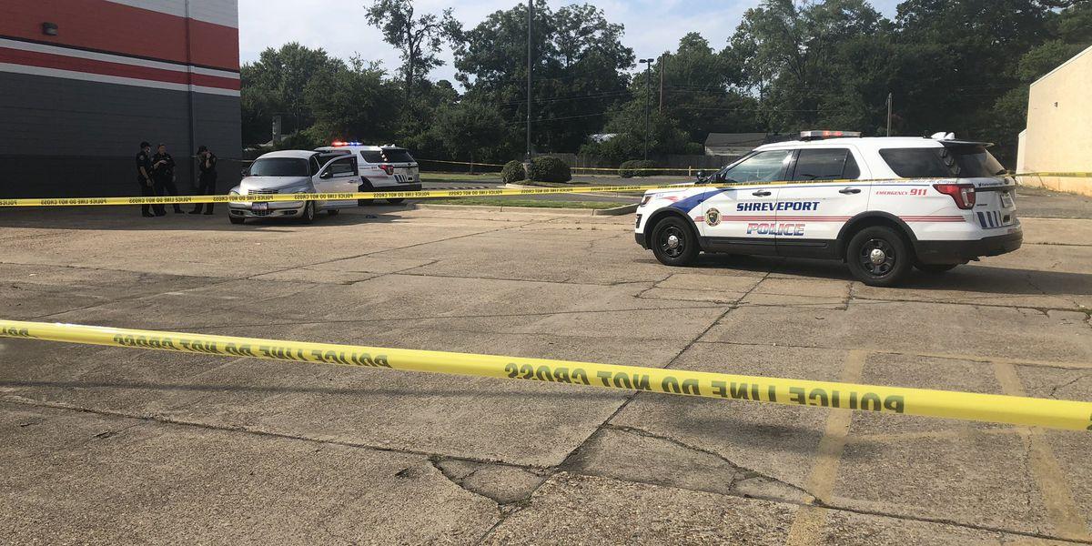 Pregnant woman shot inside car