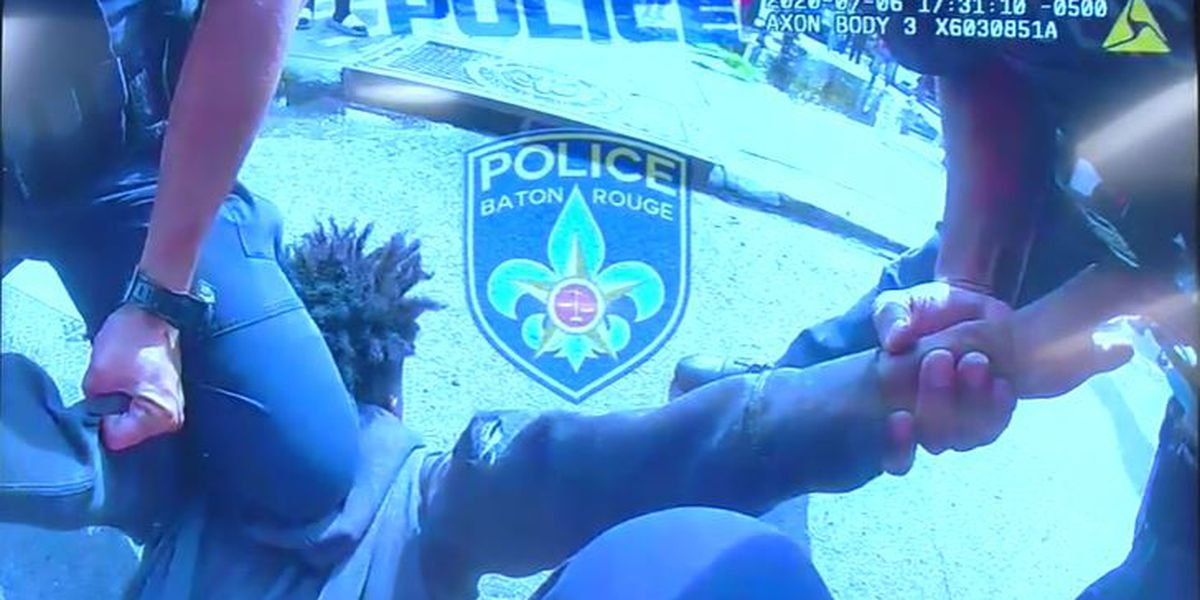 BRPD releases videos of 24-second arrest of teen