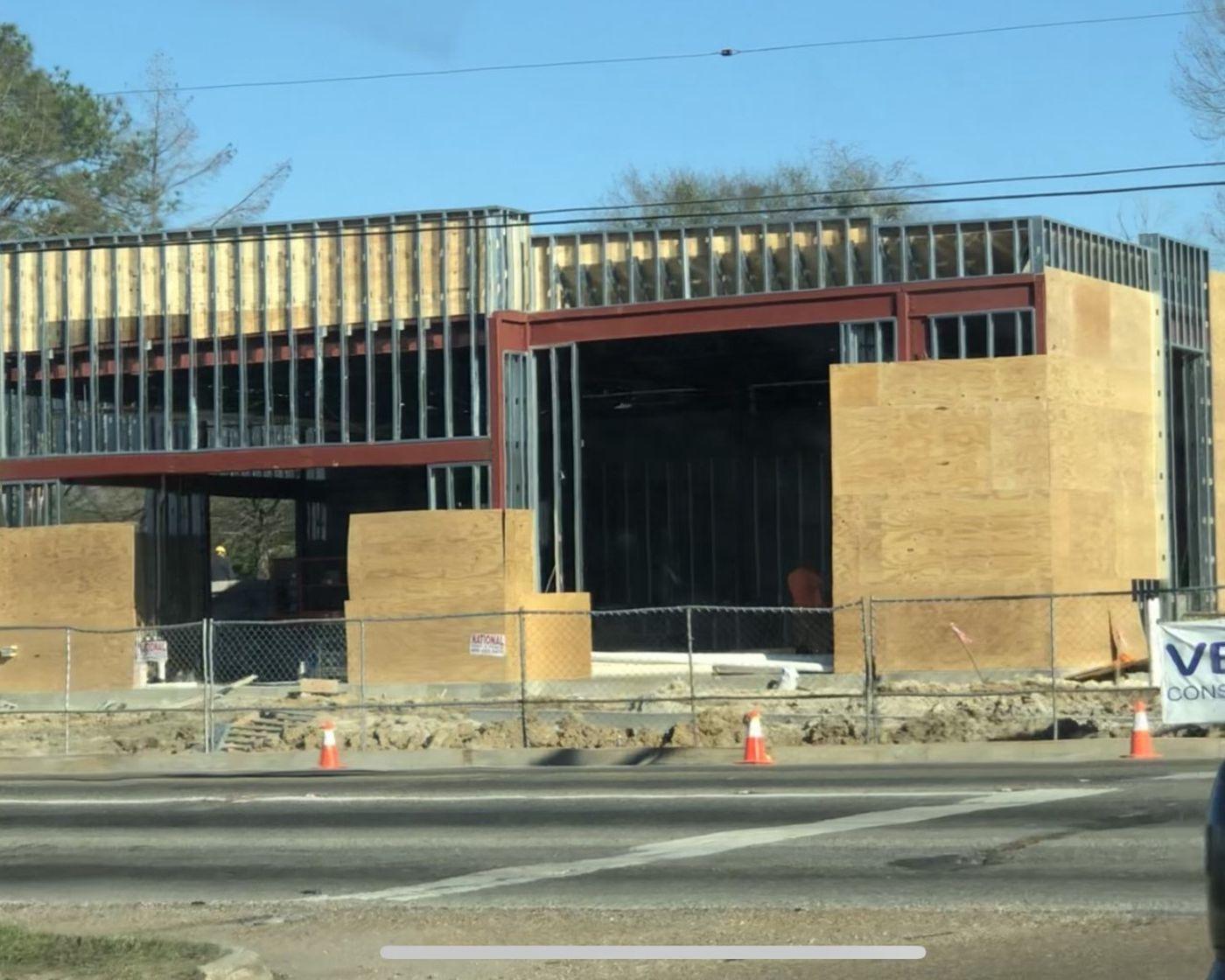 Renovations are underway at the Krispy Kreme on Plank Road in Baton Rouge.