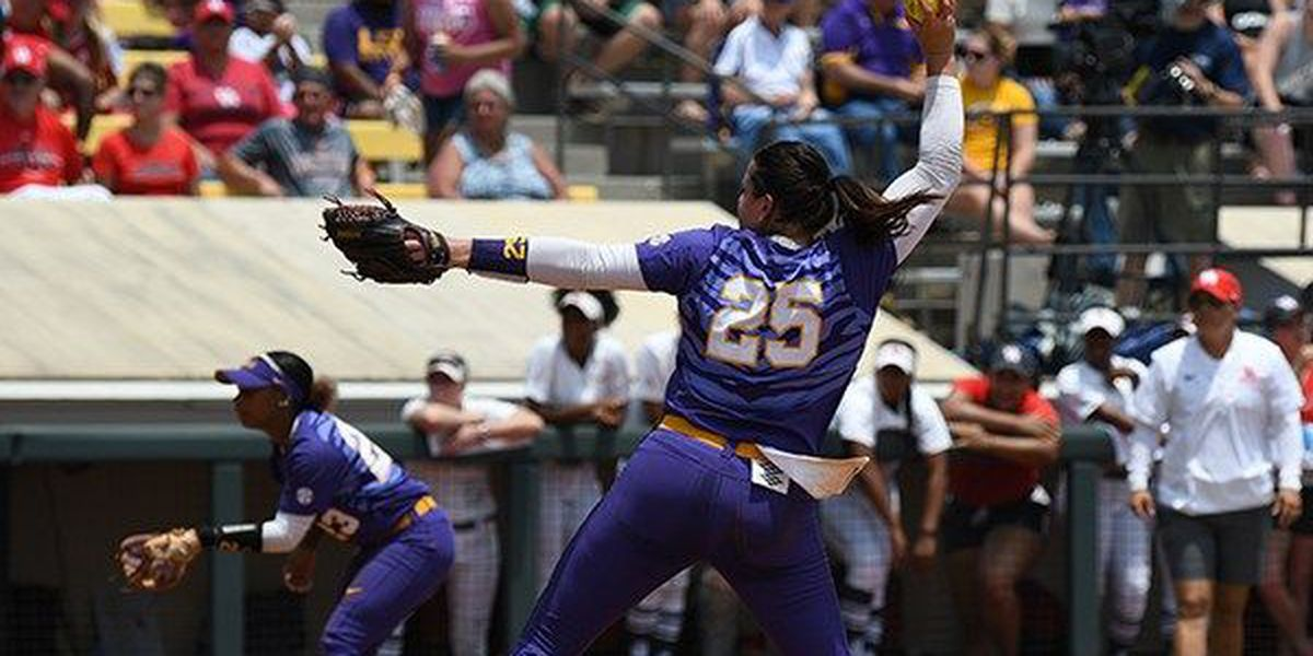 LSU softball shuts out Houston; advances to regional championship