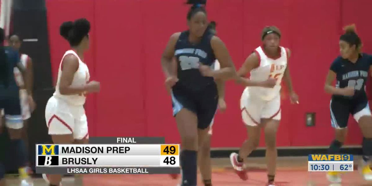 Madison Prep vs Brusly - Girls' Basketball