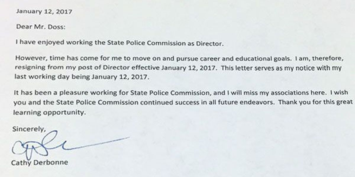 Director of La. State Police Commission resigns amid controversy