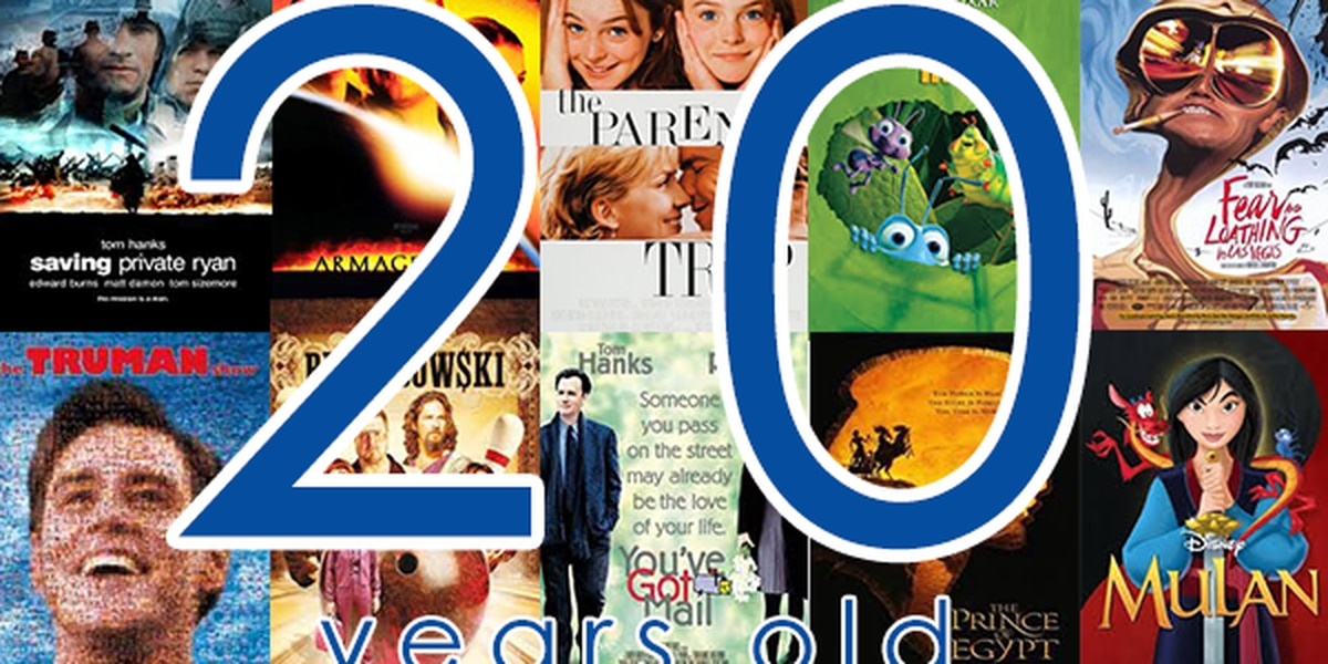 Want to feel old? These iconic movies turn 20 this year