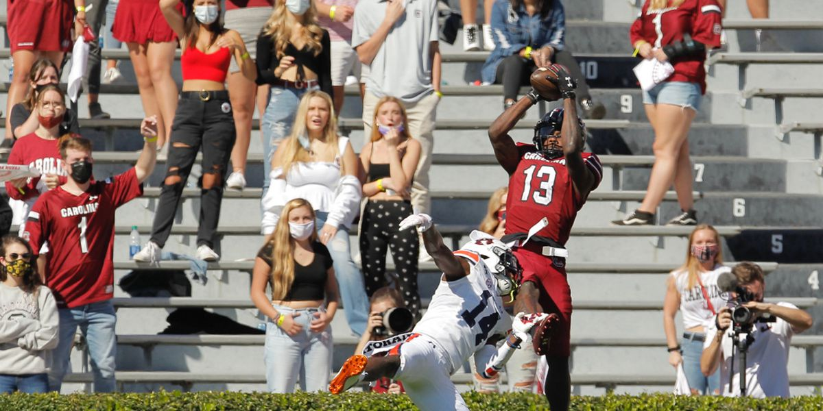 Gamecocks defeat No. 15 Auburn for first time in more than 80 years