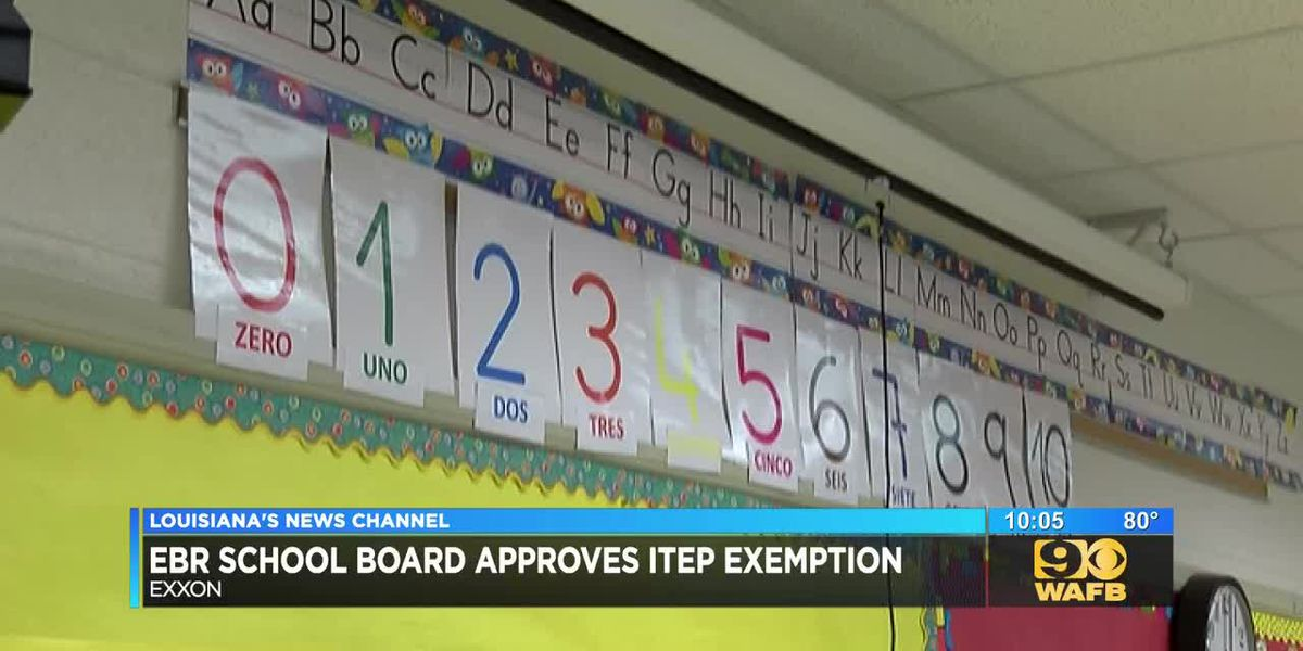 EBR School Board approve Exxon ITEP request