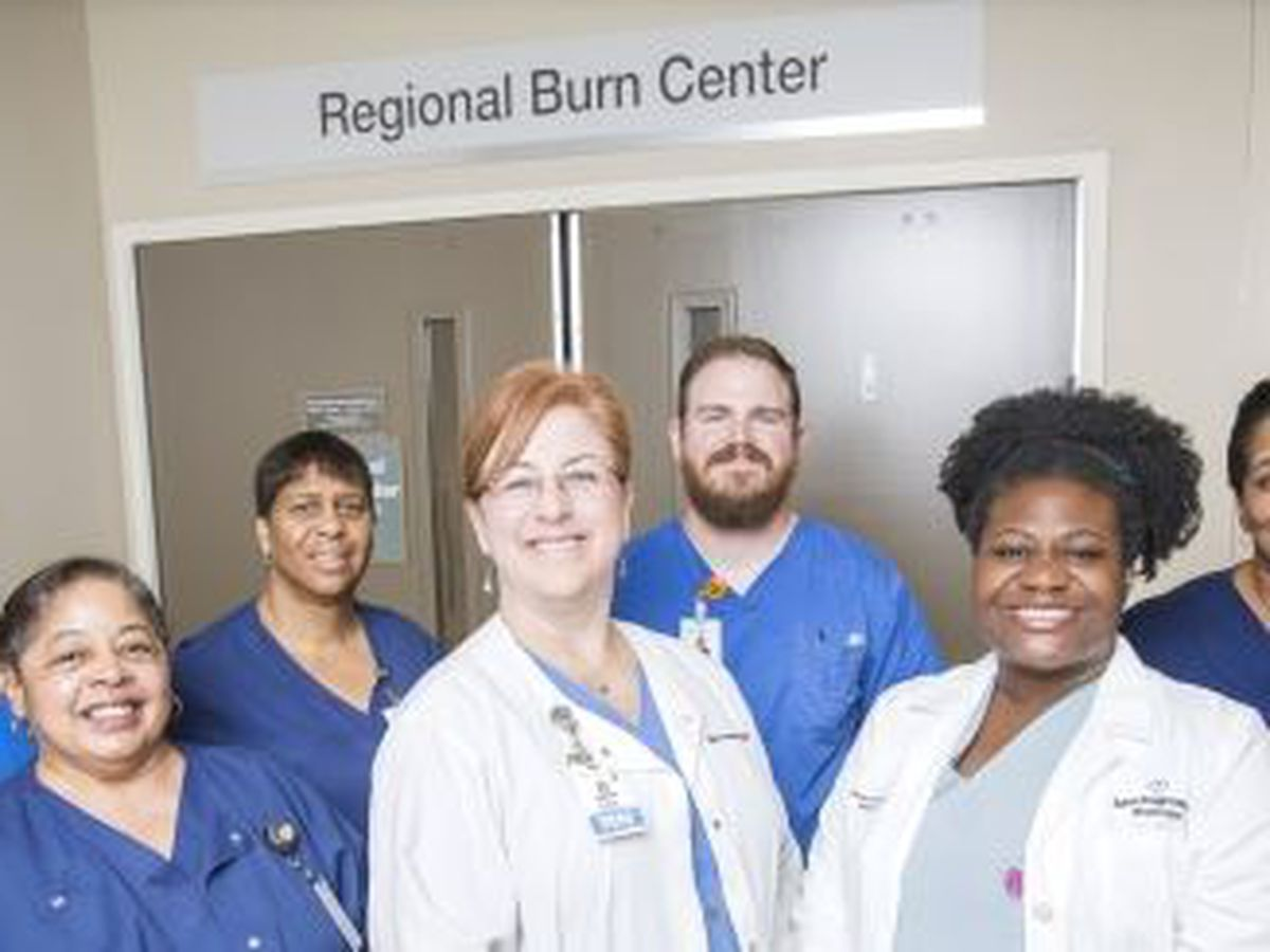 Baton Rouge General is Louisiana's only verified burn center